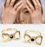 @@来自星星的你戒指全智贤千颂伊同款戒指 食指D字女韩国饰品