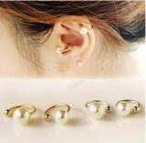 韩国珍珠耳骨夹U夹无耳洞耳环隐形耳钉耳夹女生生日礼物