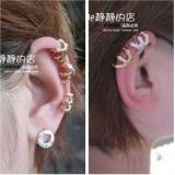 欧美走秀摩登爆款 个性鹰爪造型耳饰 耳夹耳挂 金银两色耳骨夹