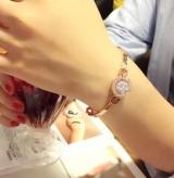 韩国时尚锆石满钻手链