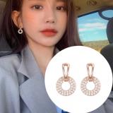 S925银针韩国新款2020爆款潮简约高级感网红小巧耳钉