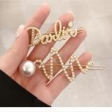 韩国新款珍珠简约网红可爱发夹