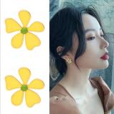 S925银针韩国小雏菊ins潮小众可爱少女简约气质网红耳钉