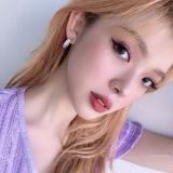 S925银针韩国新款高级质创意超仙闪闪个性高端冷淡风气质耳钉女