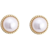 S925银针韩国巴洛克珍珠复古网红气质高级感小巧个性简约爆款耳钉耳饰女