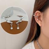 韩国精灵耳挂即刻拥有精灵耳铜锆石显脸小耳夹耳饰女